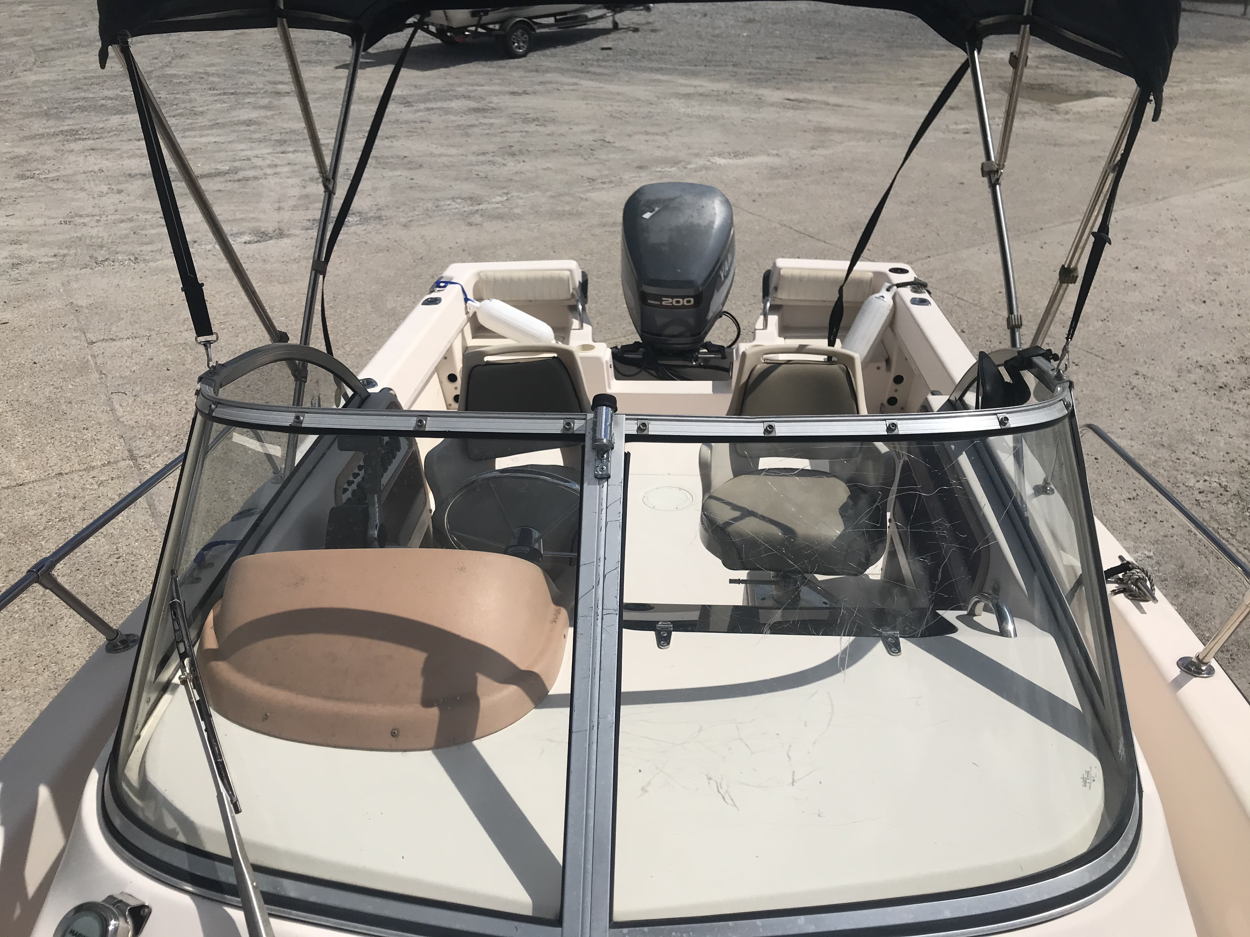 1998 Grady-White boat for sale, model of the boat is Adventure 208 & Image # 2 of 15