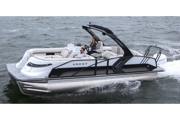 2022 CREST PONTOON BOATS Savannah 250