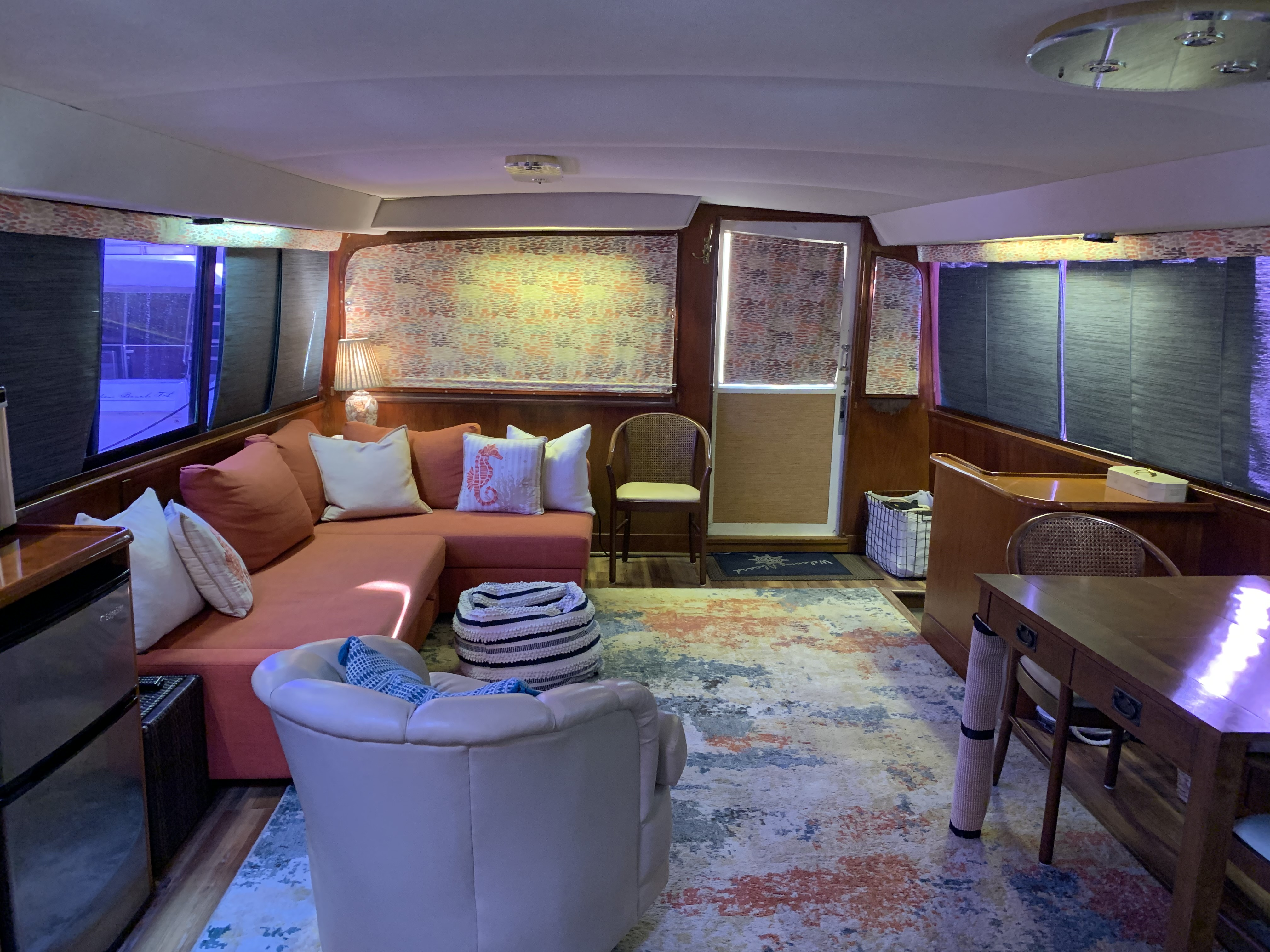 Salon view from galley