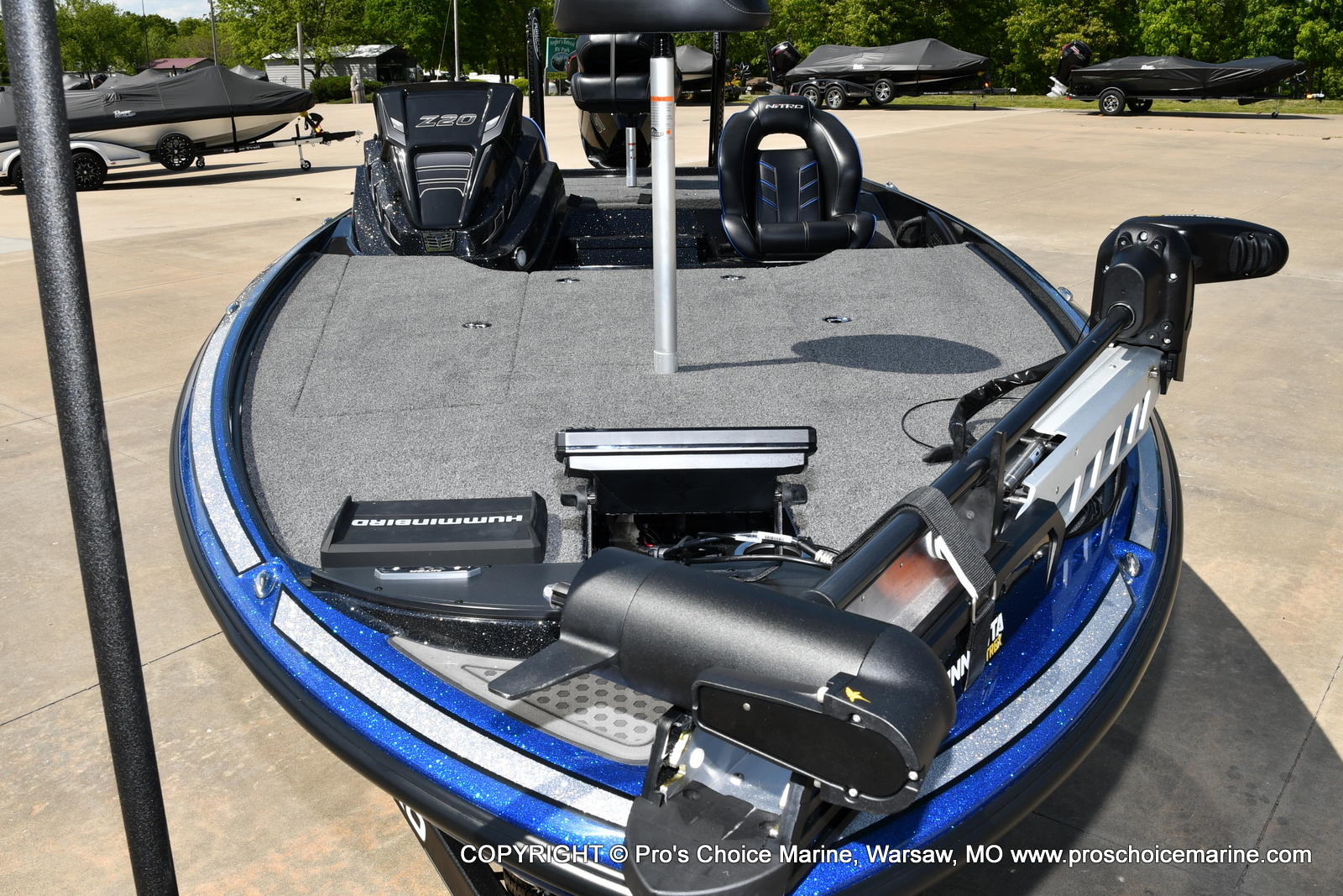 2021 Nitro boat for sale, model of the boat is Z20 PRO PACKAGE & Image # 4 of 50