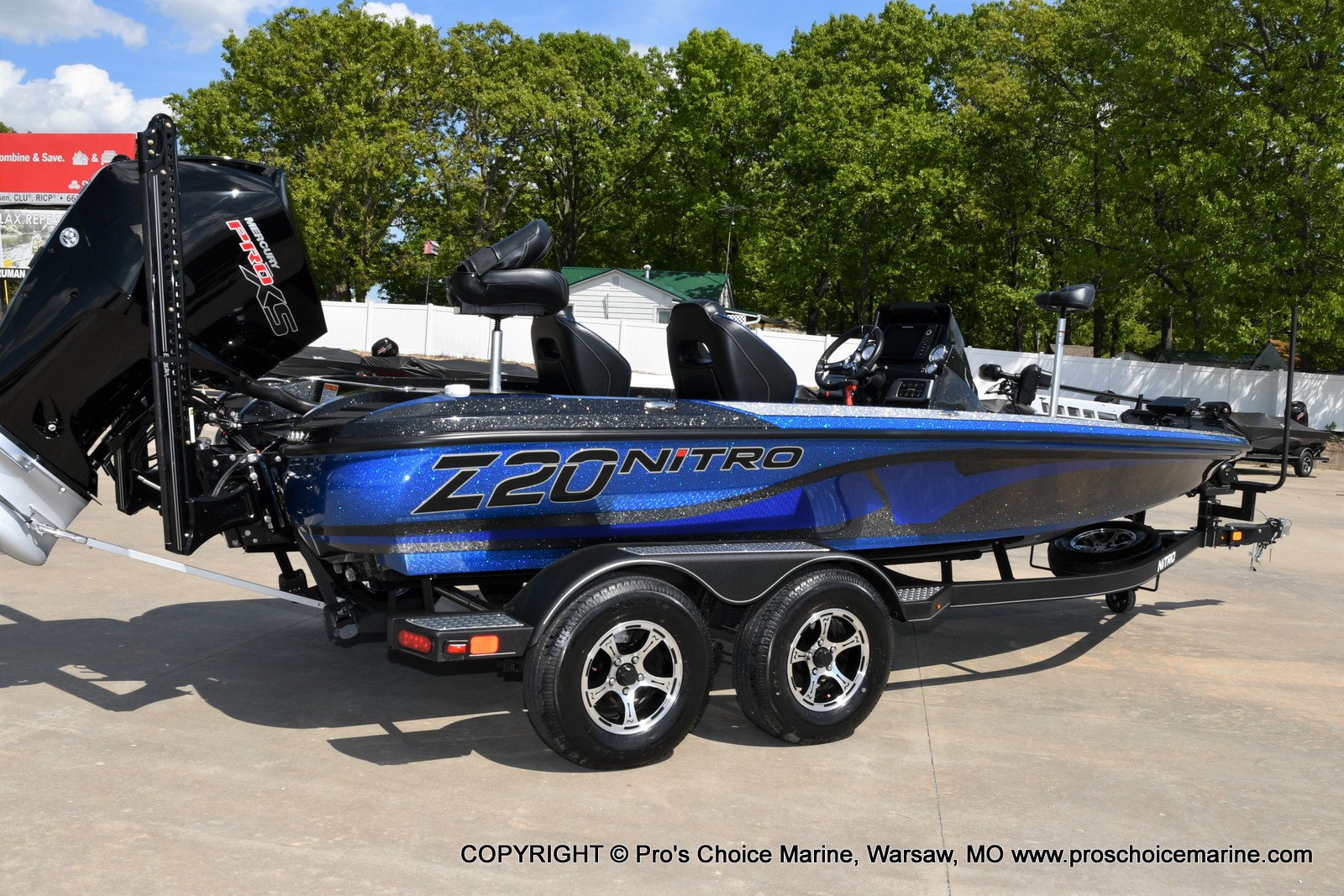 2021 Nitro boat for sale, model of the boat is Z20 PRO PACKAGE & Image # 29 of 50