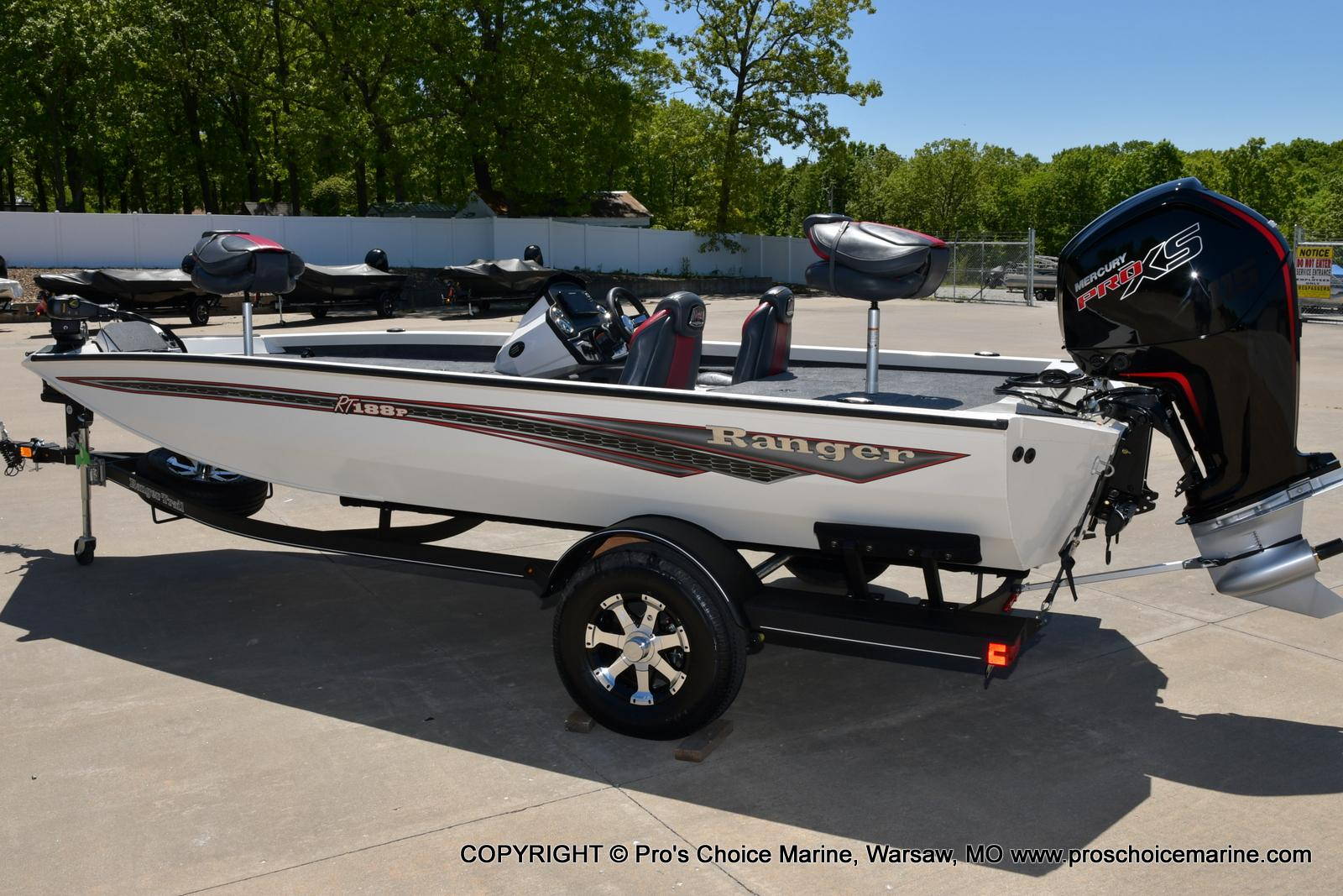 2021 Ranger Boats boat for sale, model of the boat is RT188P w/115HP Pro-XS CT w/COIN BOX & Image # 18 of 50