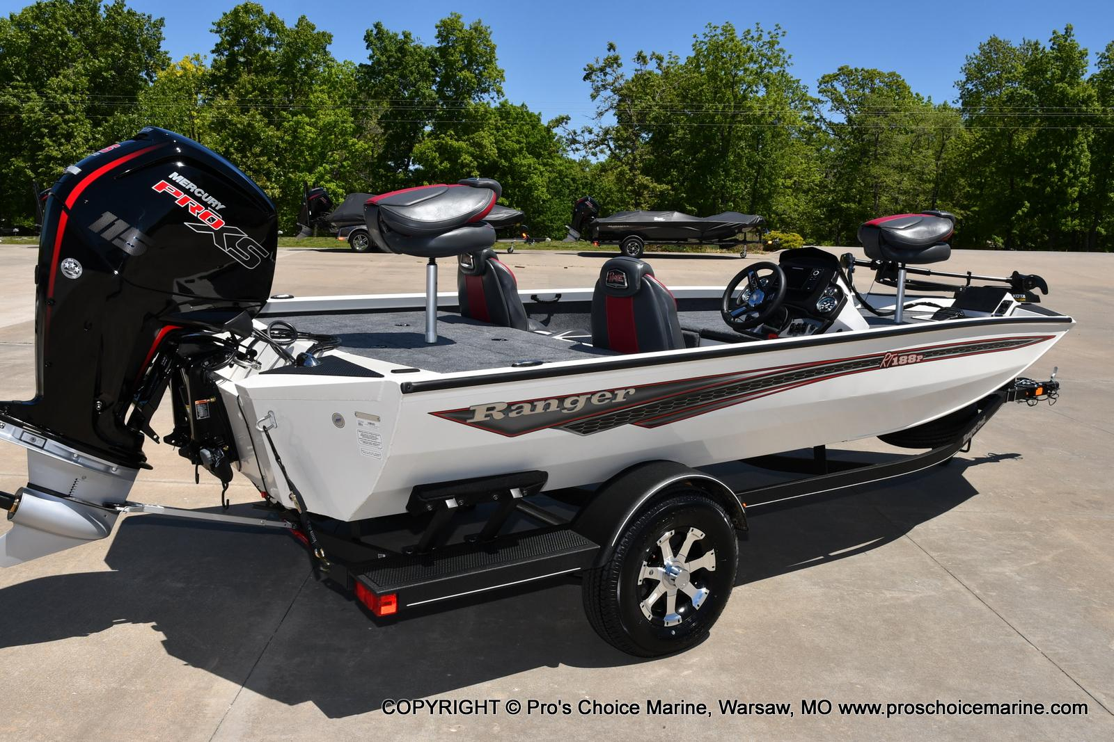 2021 Ranger Boats boat for sale, model of the boat is RT188P w/115HP Pro-XS CT w/COIN BOX & Image # 3 of 50