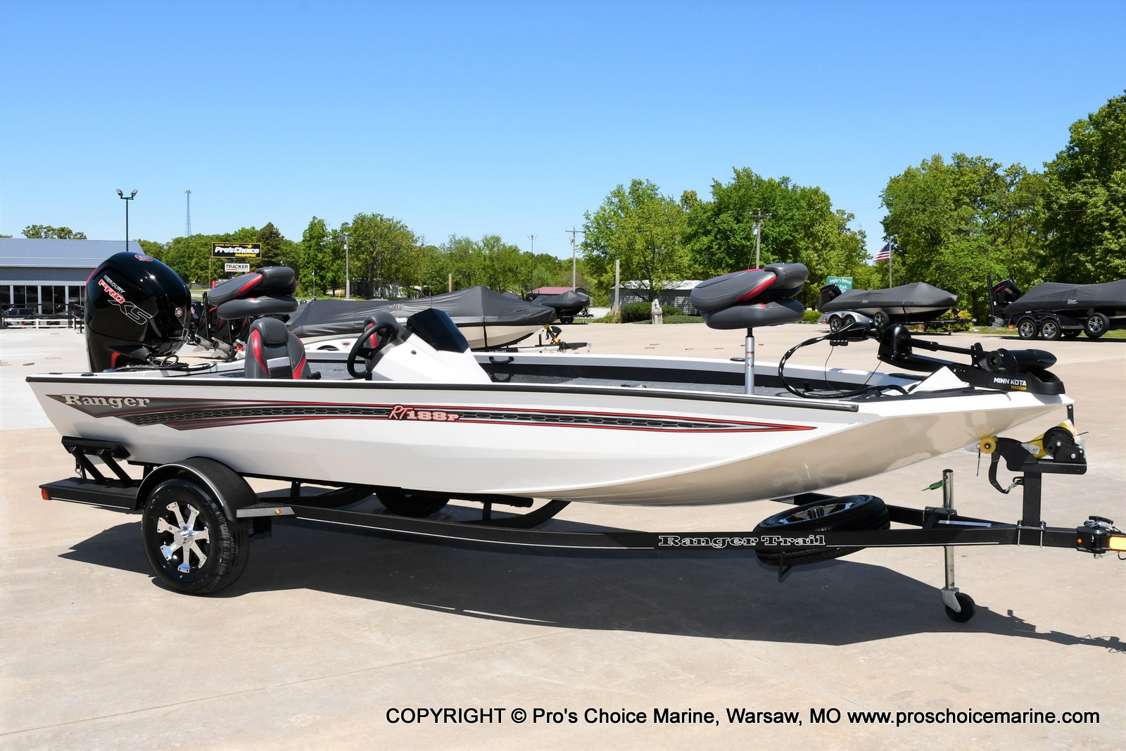 2021 Ranger Boats boat for sale, model of the boat is RT188P w/115HP Pro-XS CT w/COIN BOX & Image # 1 of 50