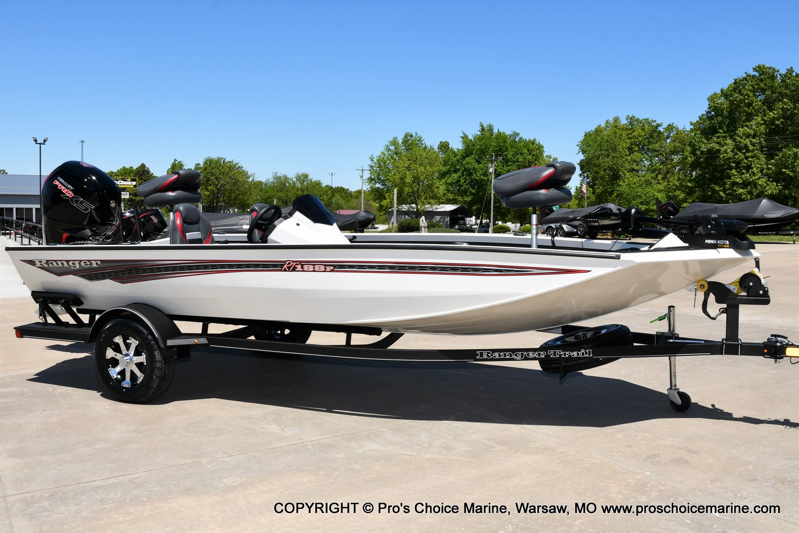 2021 Ranger Boats boat for sale, model of the boat is RT188P w/115HP Pro-XS CT w/COIN BOX & Image # 2 of 50