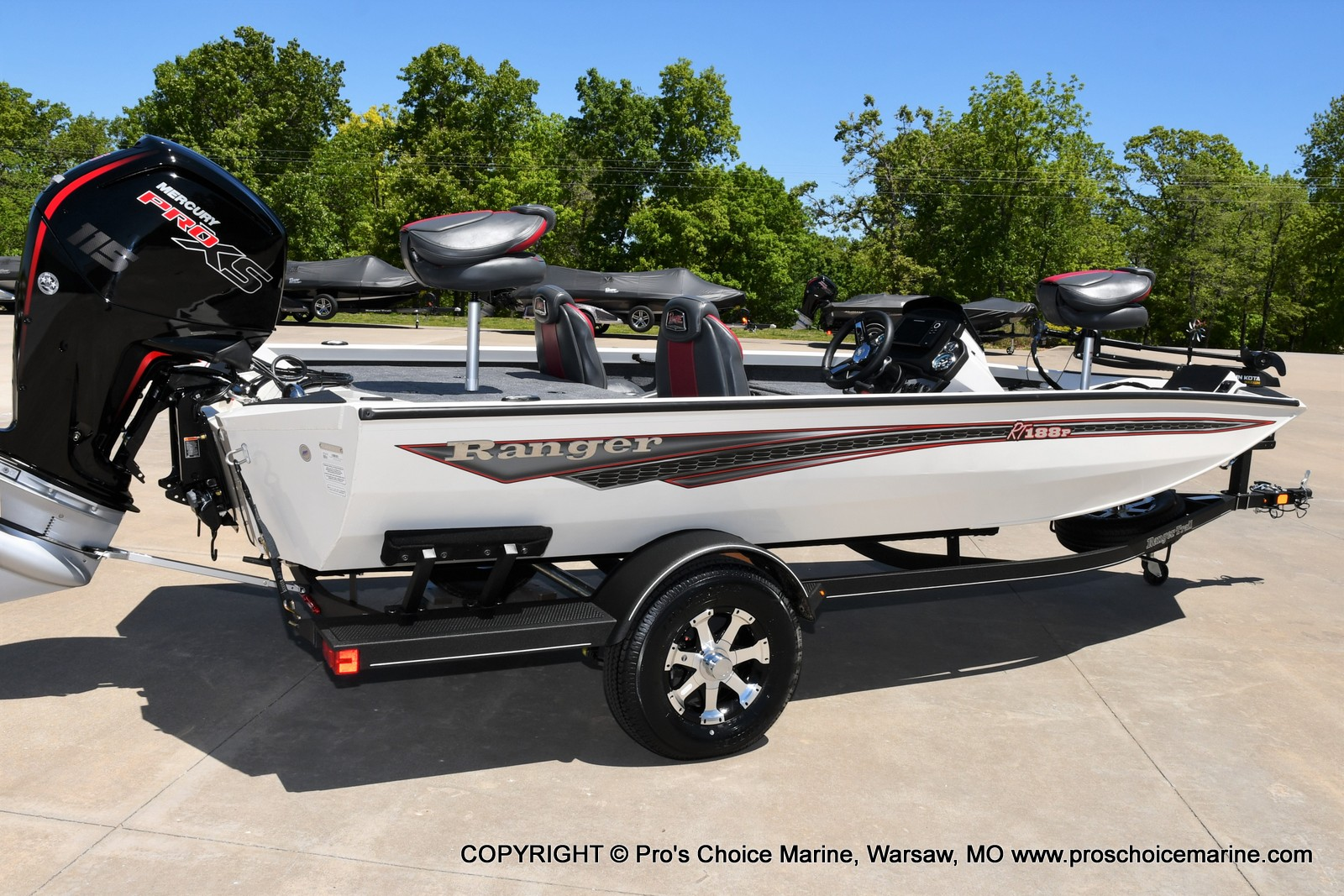 2021 Ranger Boats boat for sale, model of the boat is RT188P w/115HP Pro-XS CT w/COIN BOX & Image # 4 of 50