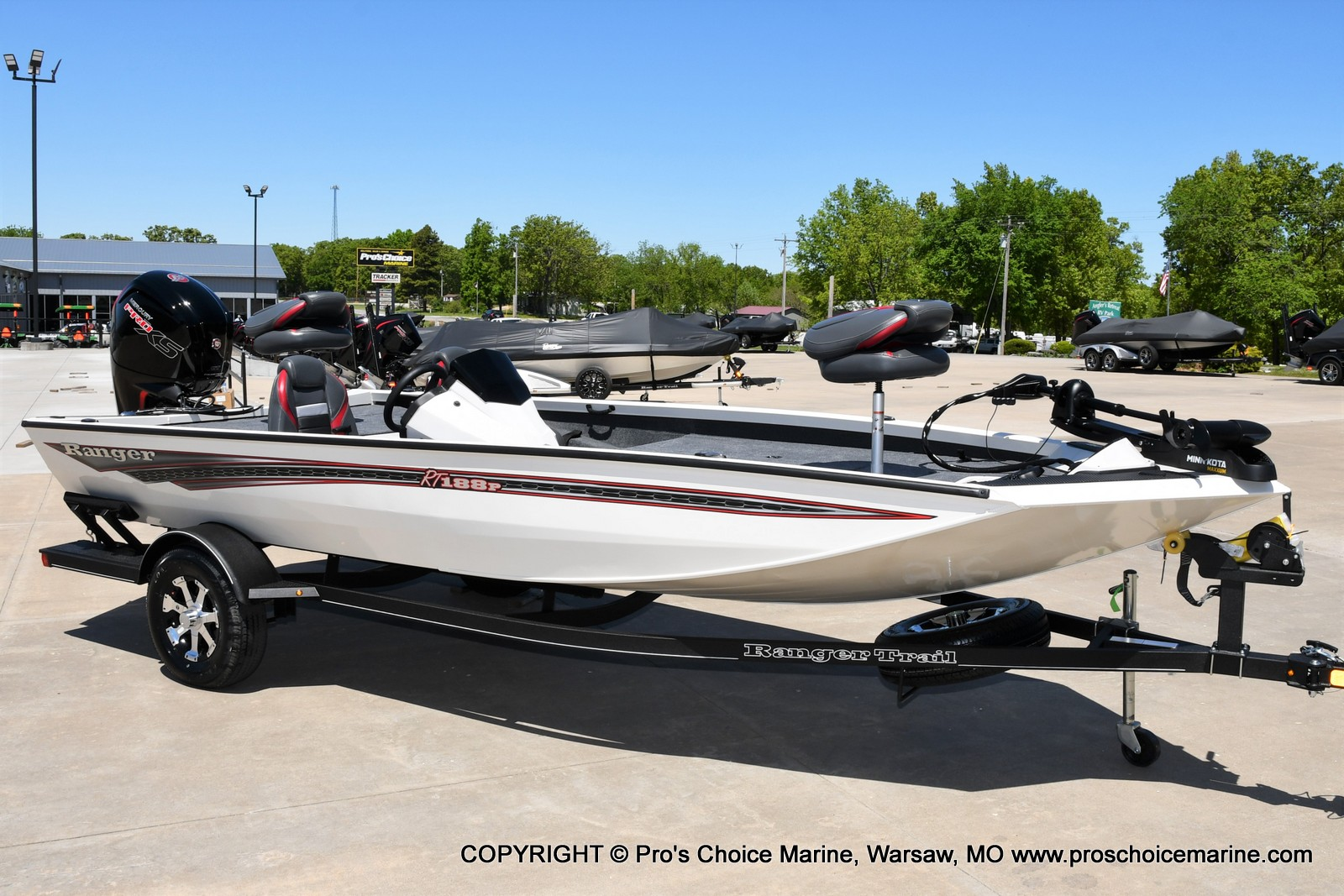 2021 Ranger Boats boat for sale, model of the boat is RT188P w/115HP Pro-XS CT w/COIN BOX & Image # 29 of 50