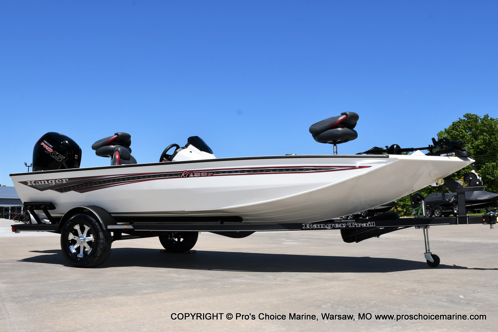 2021 Ranger Boats boat for sale, model of the boat is RT188P w/115HP Pro-XS CT w/COIN BOX & Image # 30 of 50