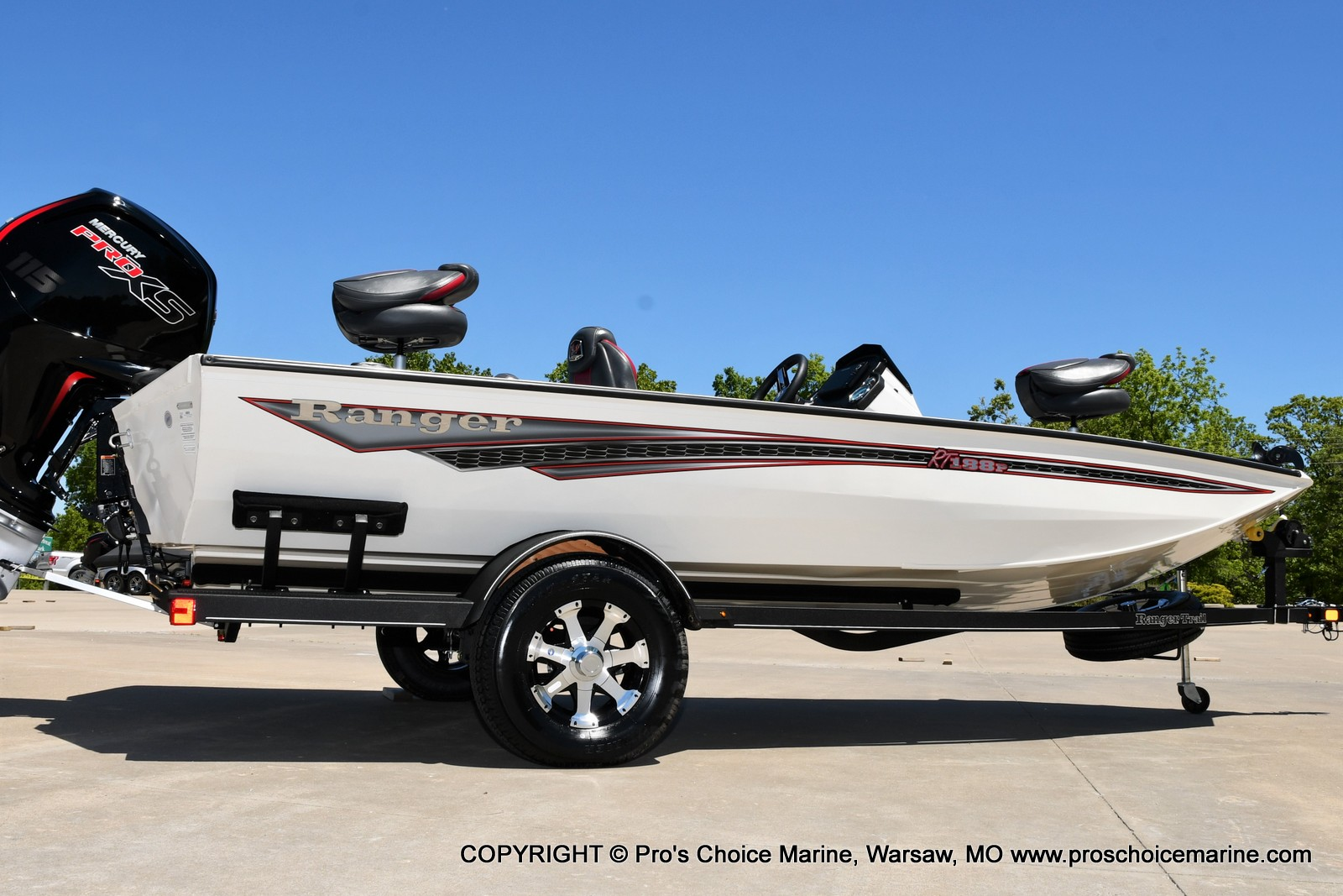 2021 Ranger Boats boat for sale, model of the boat is RT188P w/115HP Pro-XS CT w/COIN BOX & Image # 31 of 50