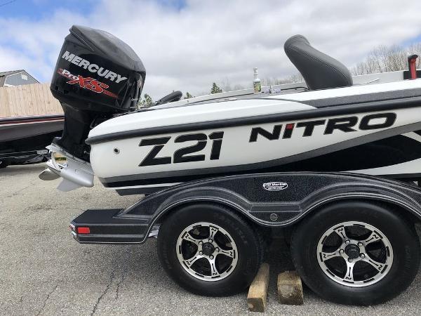 2016 Nitro boat for sale, model of the boat is Z21 & Image # 3 of 23