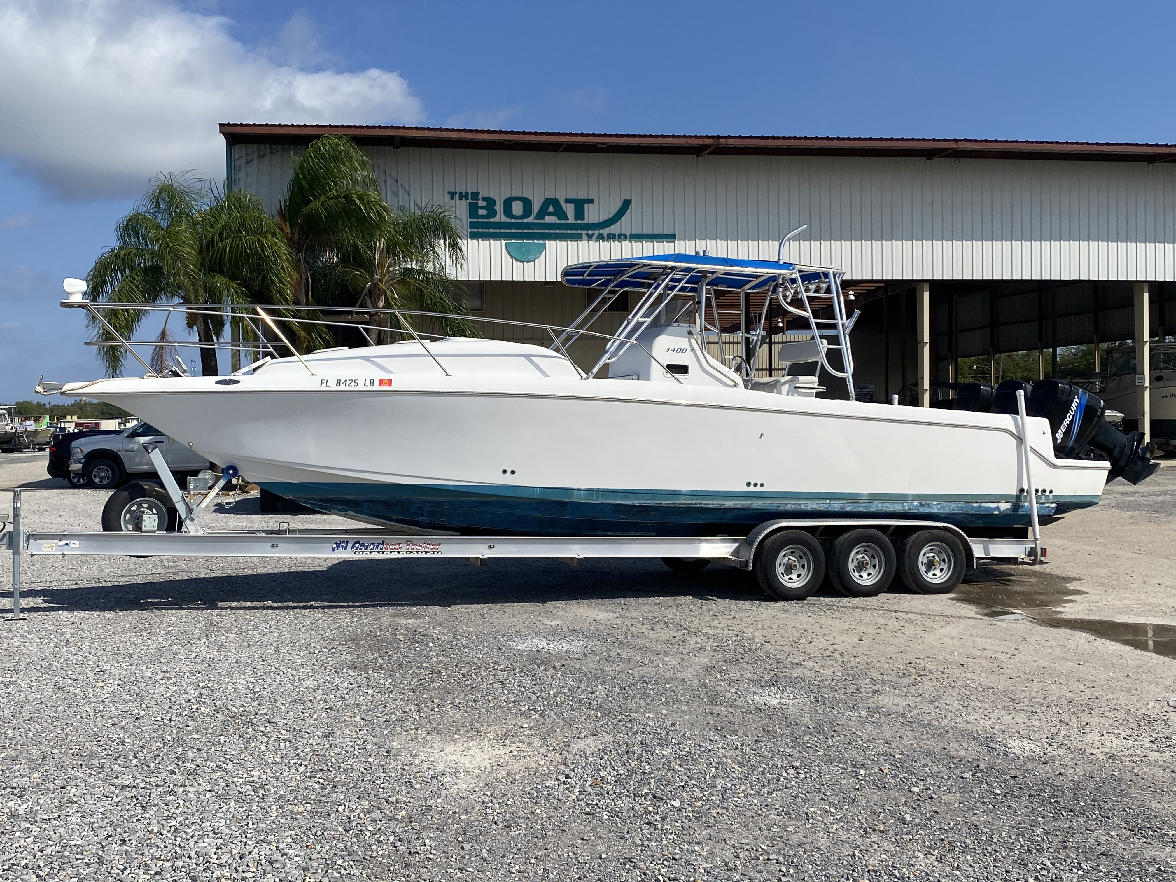 1999 PRO LINE 3400 SS for sale