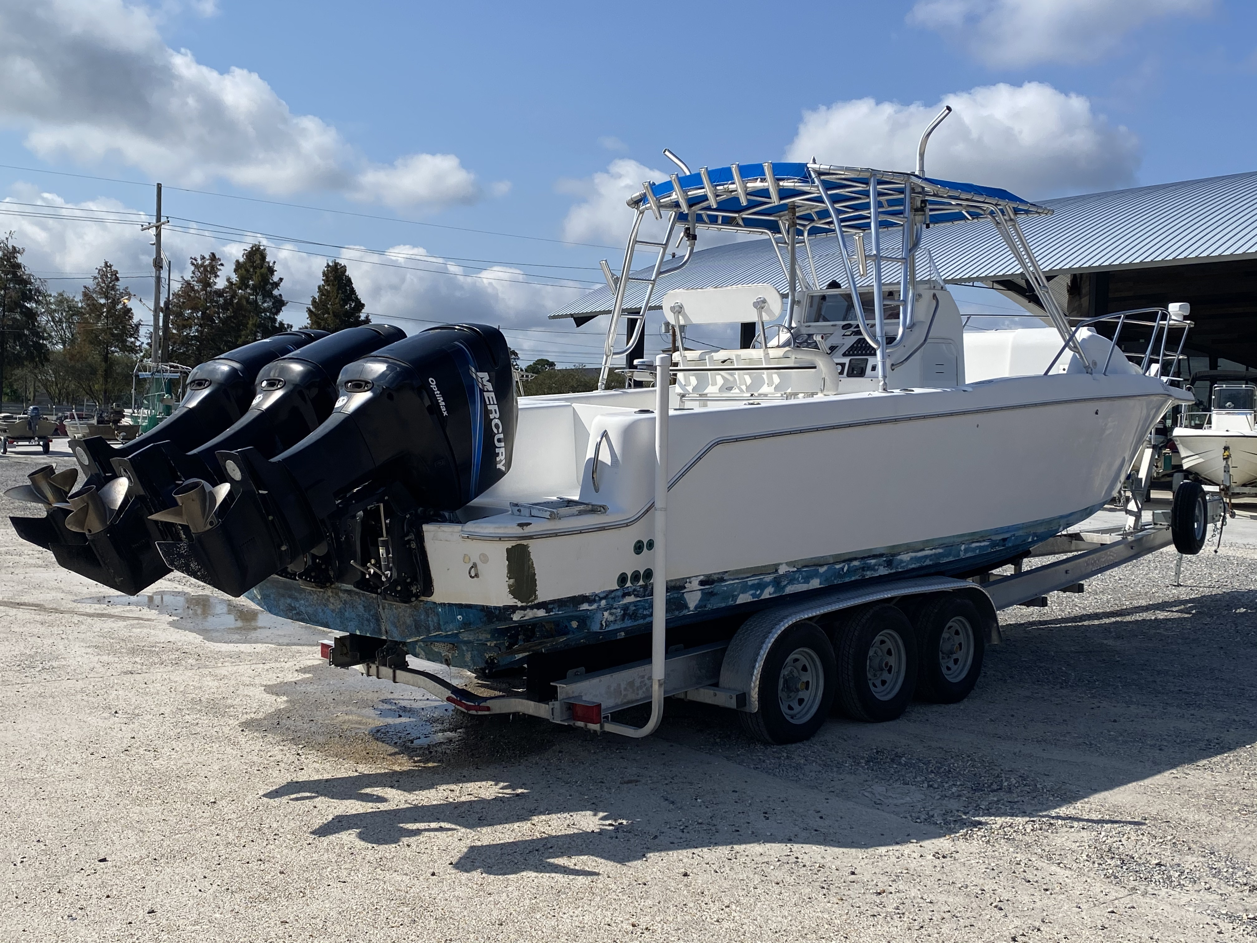 1999 Pro-Line boat for sale, model of the boat is 3400 SS & Image # 4 of 17