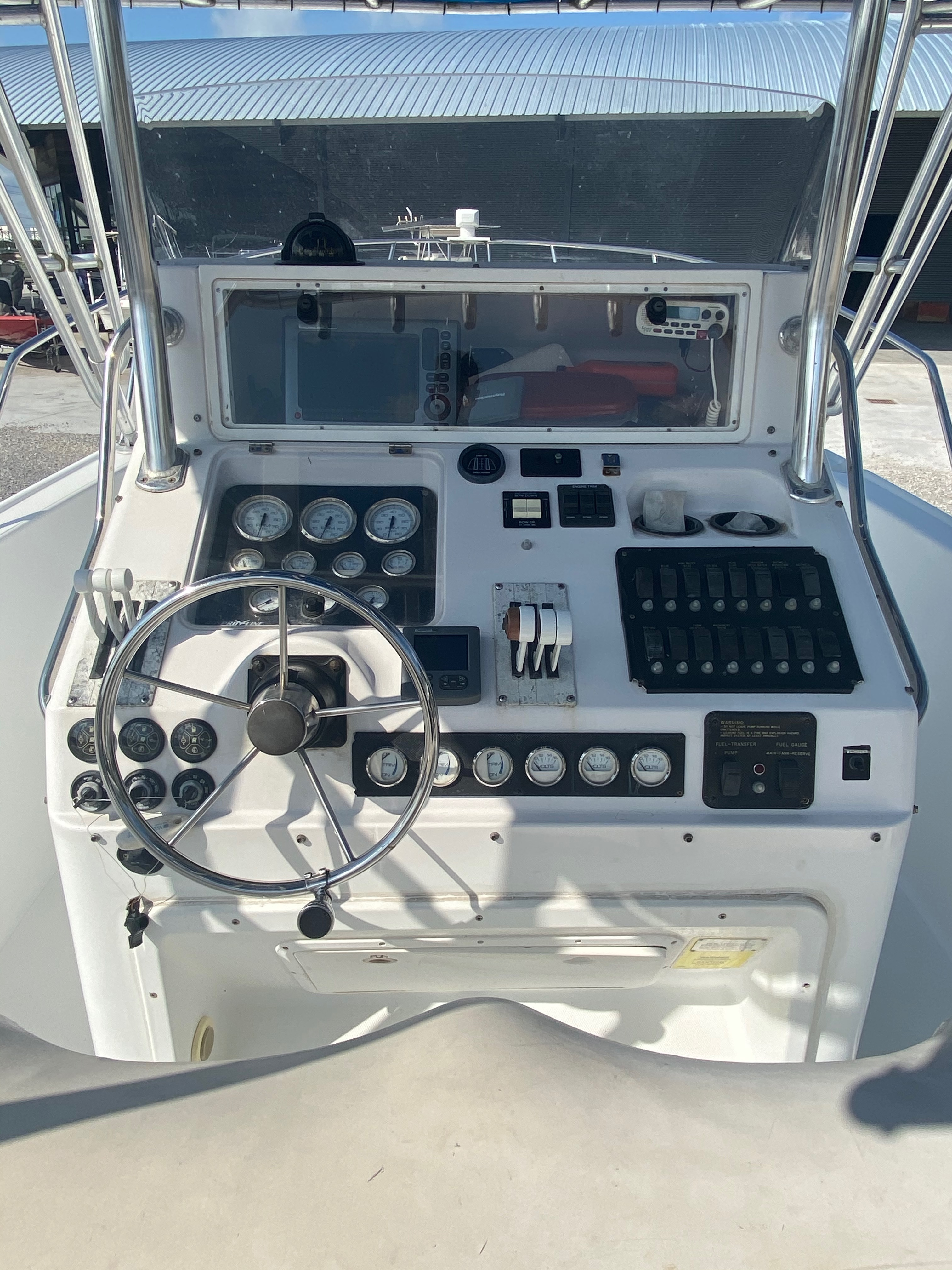 1999 Pro-Line boat for sale, model of the boat is 3400 SS & Image # 10 of 17