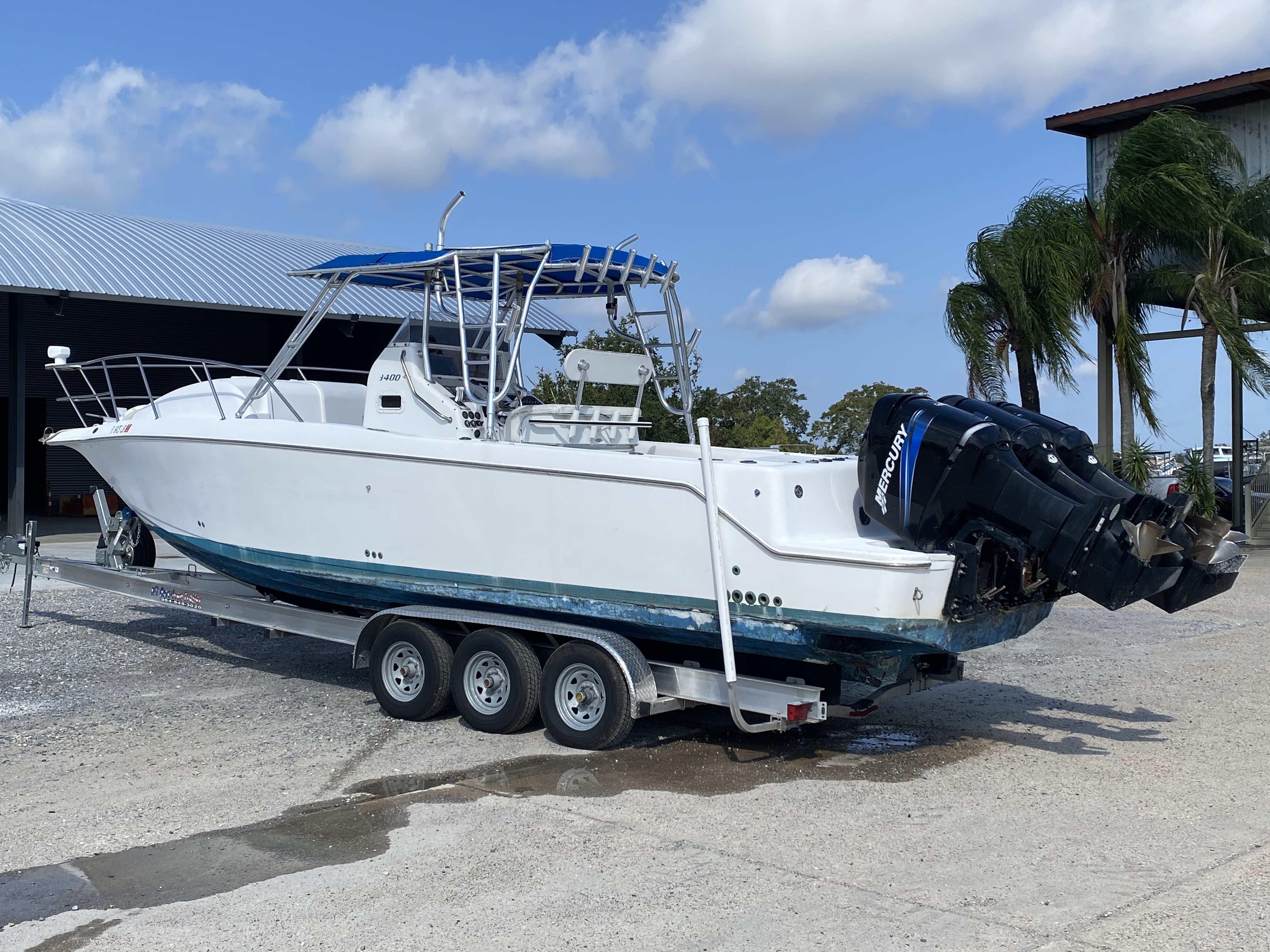 1999 Pro-Line boat for sale, model of the boat is 3400 SS & Image # 17 of 17
