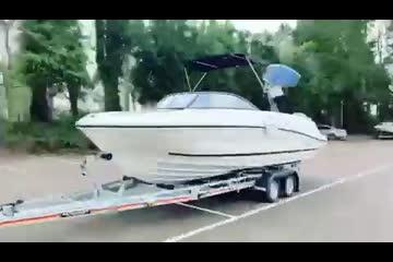 Bayliner VR 6 Outboard video