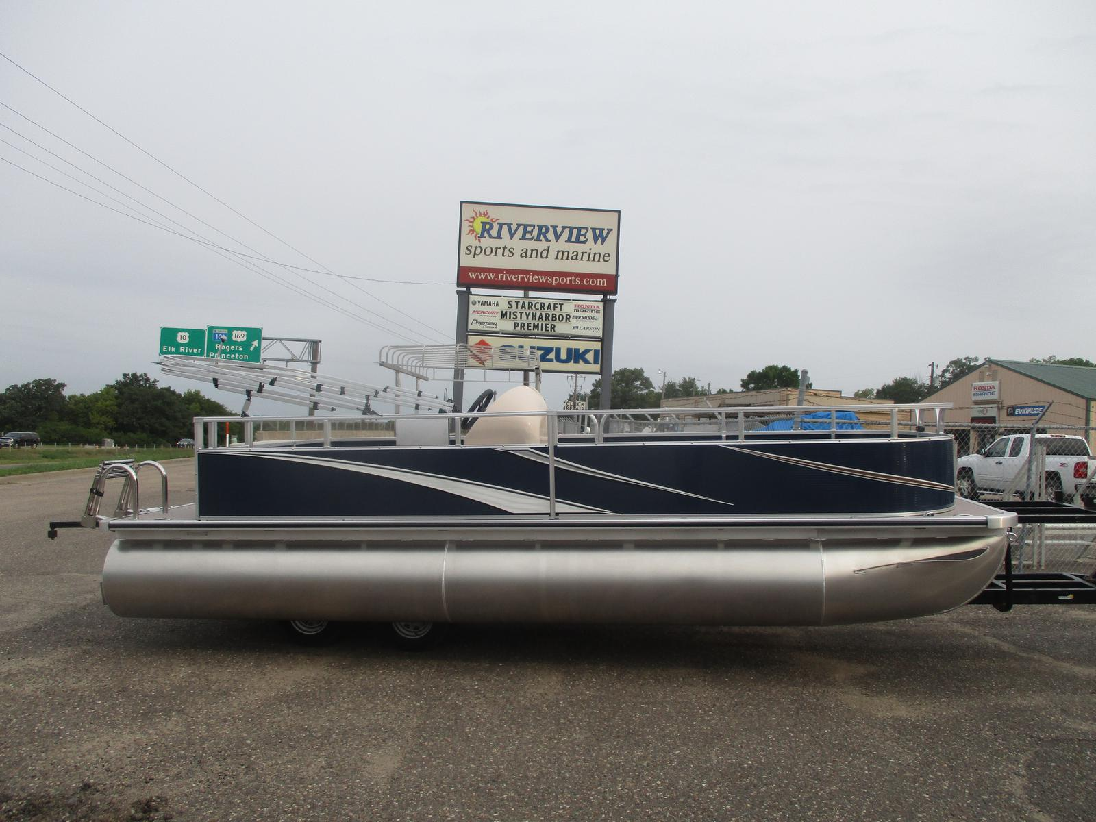 2022 FORESTER BOATS 22' Deck