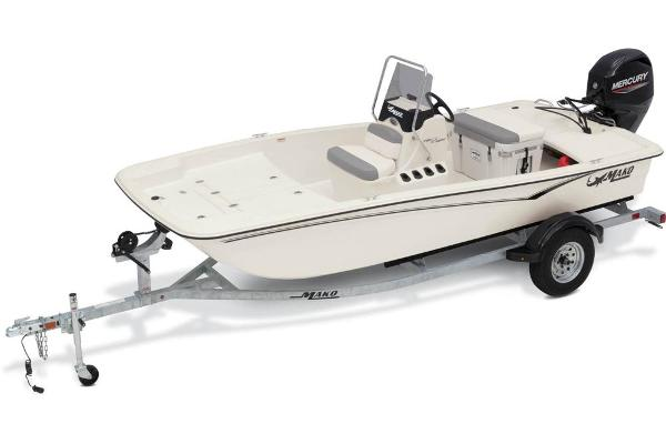 2021 Mako boat for sale, model of the boat is Pro Skiff 15 CC & Image # 1 of 48