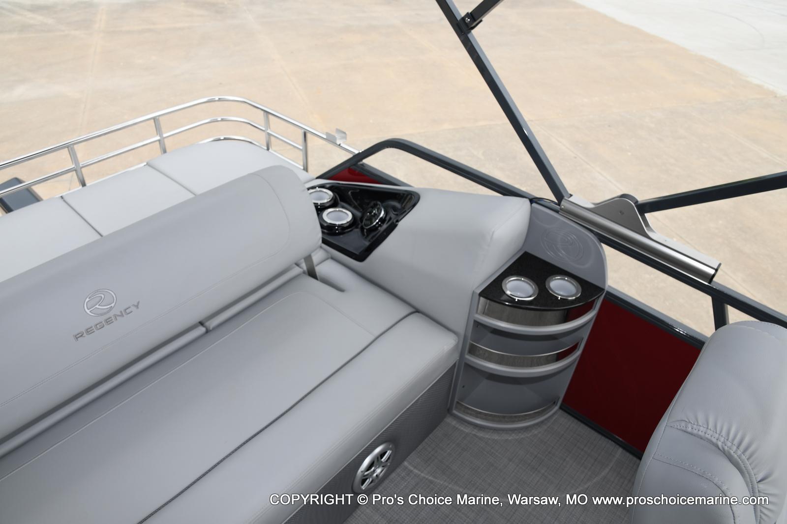 2021 Regency boat for sale, model of the boat is 250 LE3 Sport & Image # 9 of 25