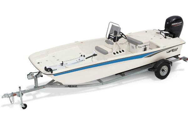 2021 Mako boat for sale, model of the boat is Pro Skiff 17 CC & Image # 1 of 48