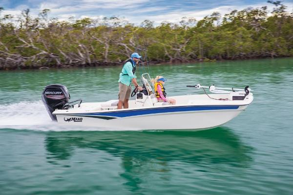 2021 Mako boat for sale, model of the boat is Pro Skiff 17 CC & Image # 10 of 51