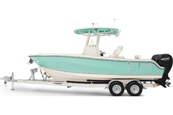 2021 Mako boat for sale, model of the boat is 236 CC & Image # 25 of 114