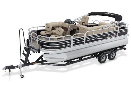 2021 Sun Tracker Fishin Barge 20 DLX thumbnail