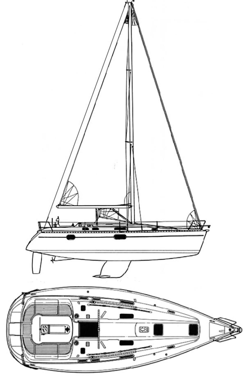 Sail and Deck Plan