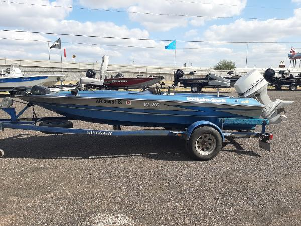 1984 Hydra-Sports boat for sale, model of the boat is VL-80 & Image # 5 of 9