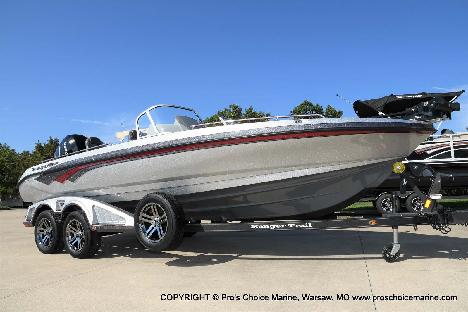 2021 Ranger Boats boat for sale, model of the boat is 621FS PRO w/400HP VERADO & Image # 3 of 50