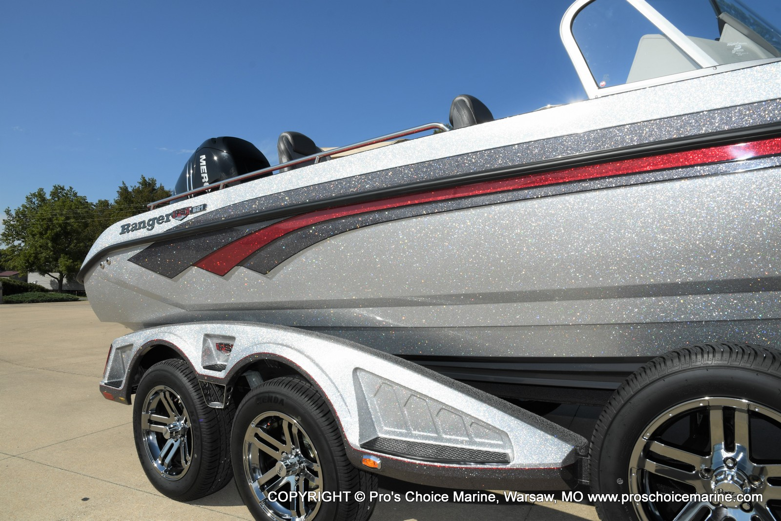 2021 Ranger Boats boat for sale, model of the boat is 621FS PRO w/400HP VERADO & Image # 25 of 50
