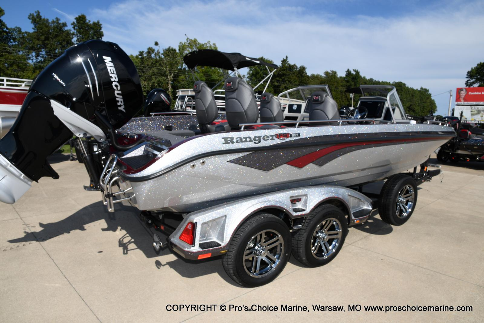 2021 Ranger Boats boat for sale, model of the boat is 621FS PRO w/400HP VERADO & Image # 14 of 50