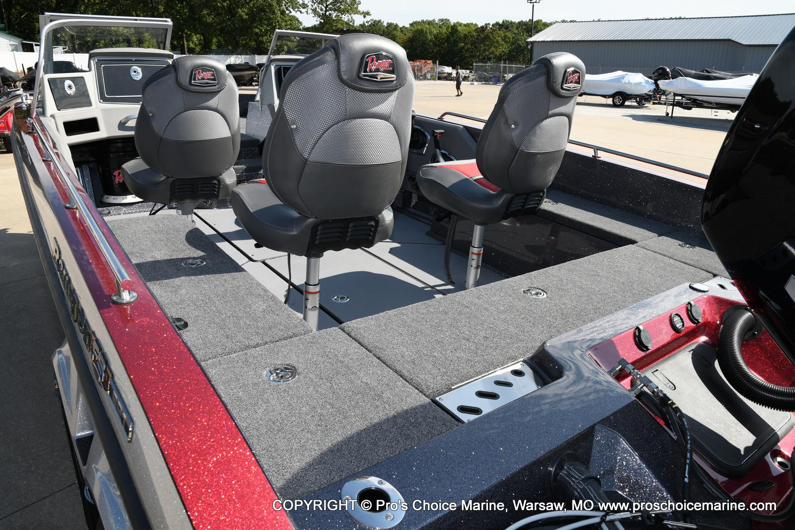 2021 Ranger Boats boat for sale, model of the boat is 621FS PRO w/400HP VERADO & Image # 18 of 50