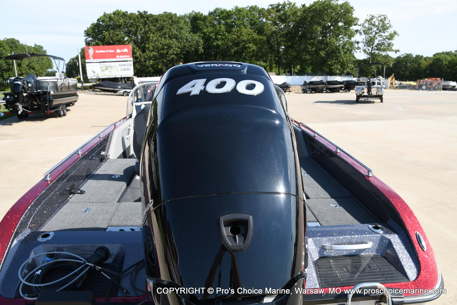 2021 Ranger Boats boat for sale, model of the boat is 621FS PRO w/400HP VERADO & Image # 4 of 50