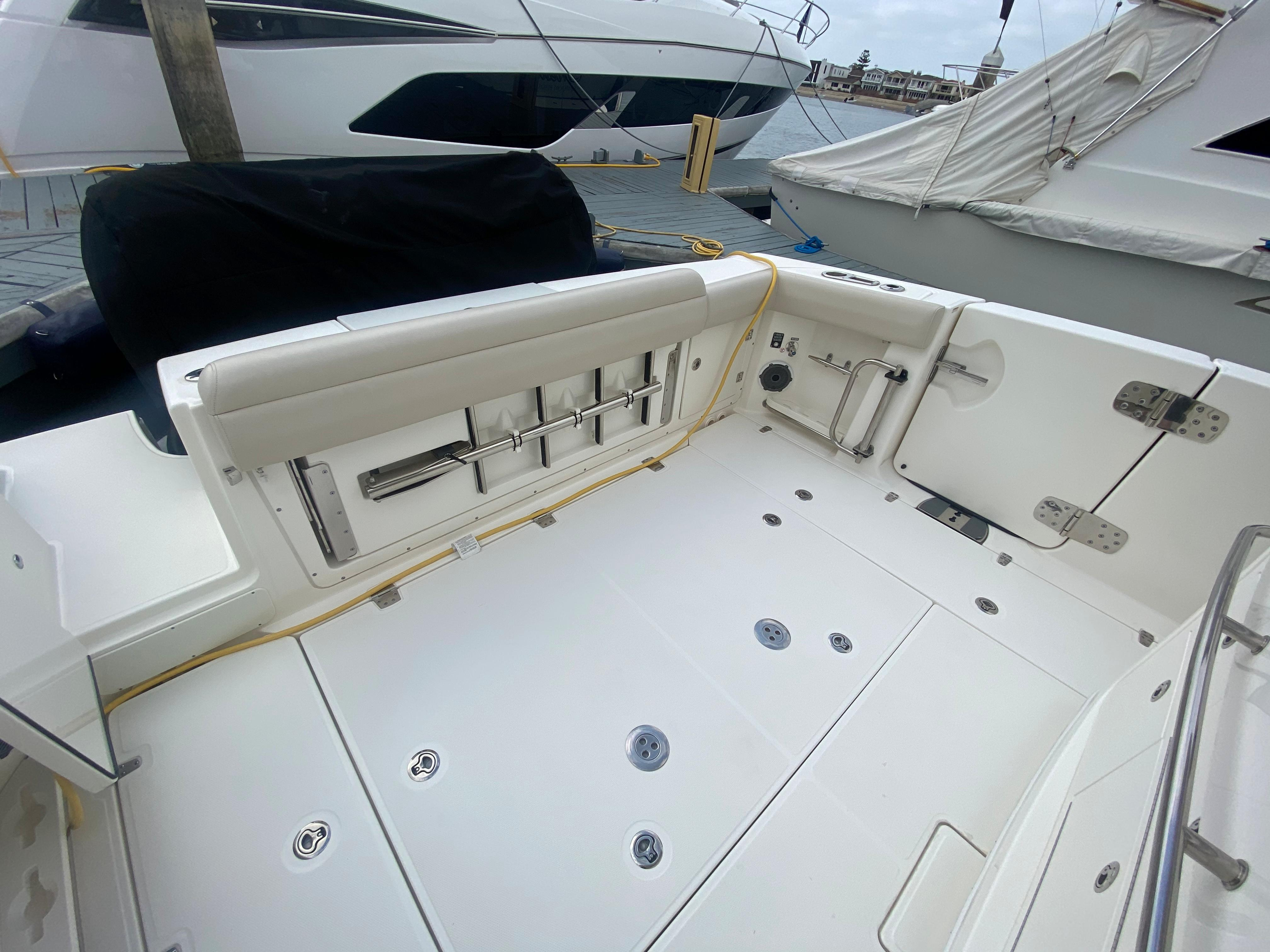2019 Boston Whaler 380 Outrage #TB0264MB3 inventory image at Sun Country Coastal in Newport Beach
