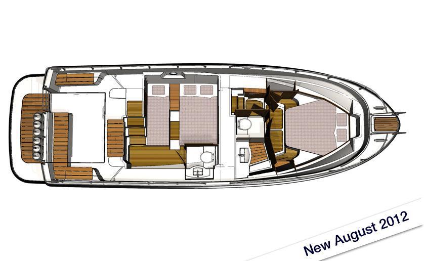 Sargo/Minor Offshore 36 Cabin Layout