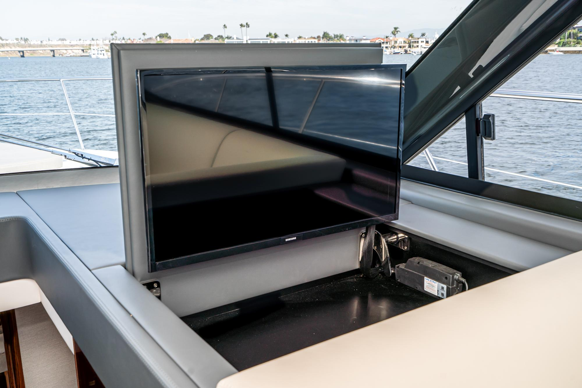 2021 Riviera 4800 Sport Yacht #R071 inventory image at Sun Country Coastal in Newport Beach