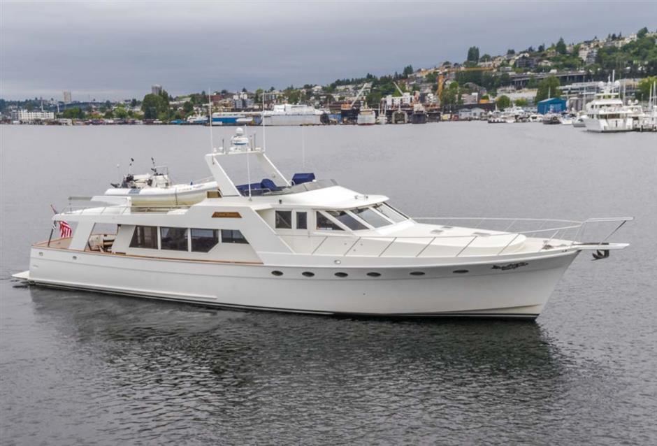 Nordlund 70 Pilot House Motor Yacht