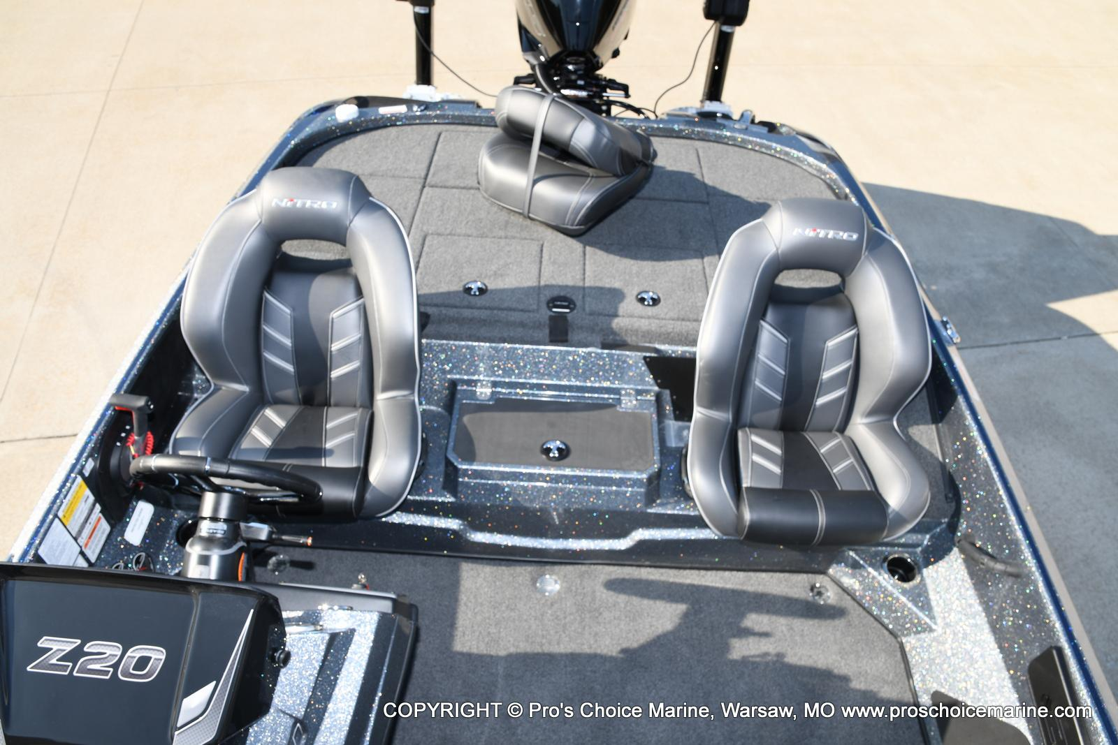 2021 Nitro boat for sale, model of the boat is Z20 PRO PACKAGE & Image # 13 of 50