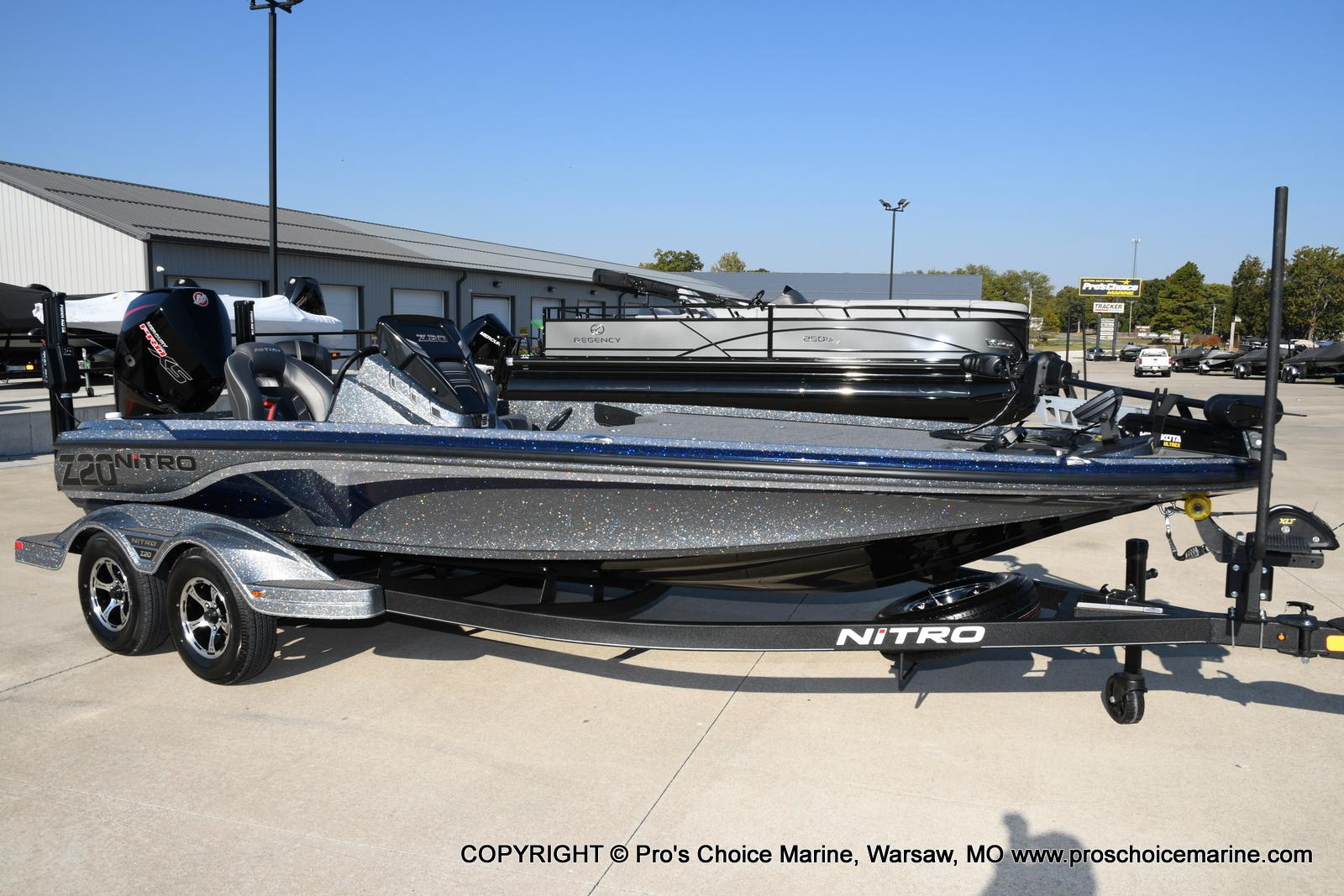 2021 Nitro boat for sale, model of the boat is Z20 PRO PACKAGE & Image # 2 of 50