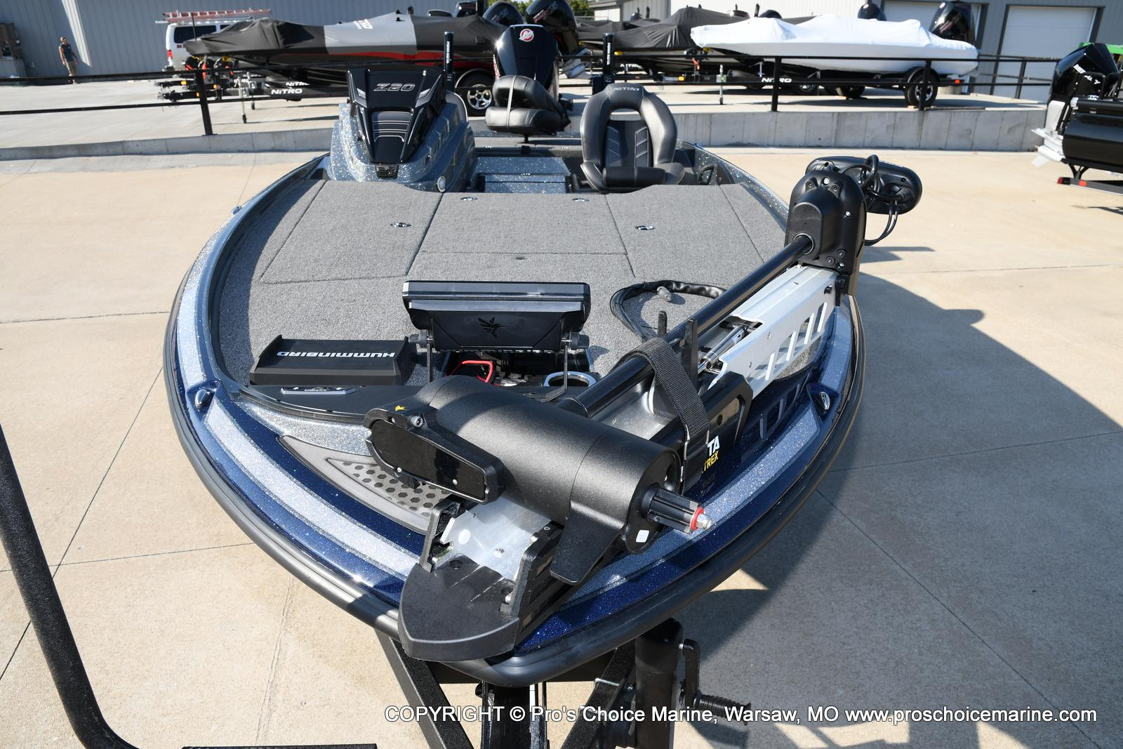 2021 Nitro boat for sale, model of the boat is Z20 PRO PACKAGE & Image # 39 of 50