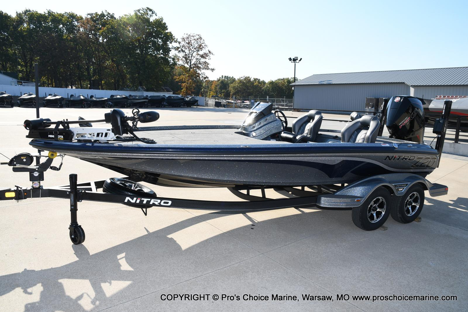 2021 Nitro boat for sale, model of the boat is Z20 PRO PACKAGE & Image # 7 of 50