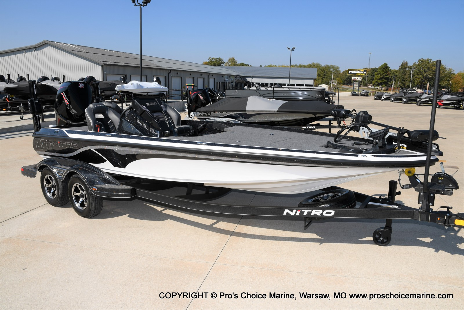 2021 Nitro boat for sale, model of the boat is Z20 PRO PACKAGE & Image # 32 of 50