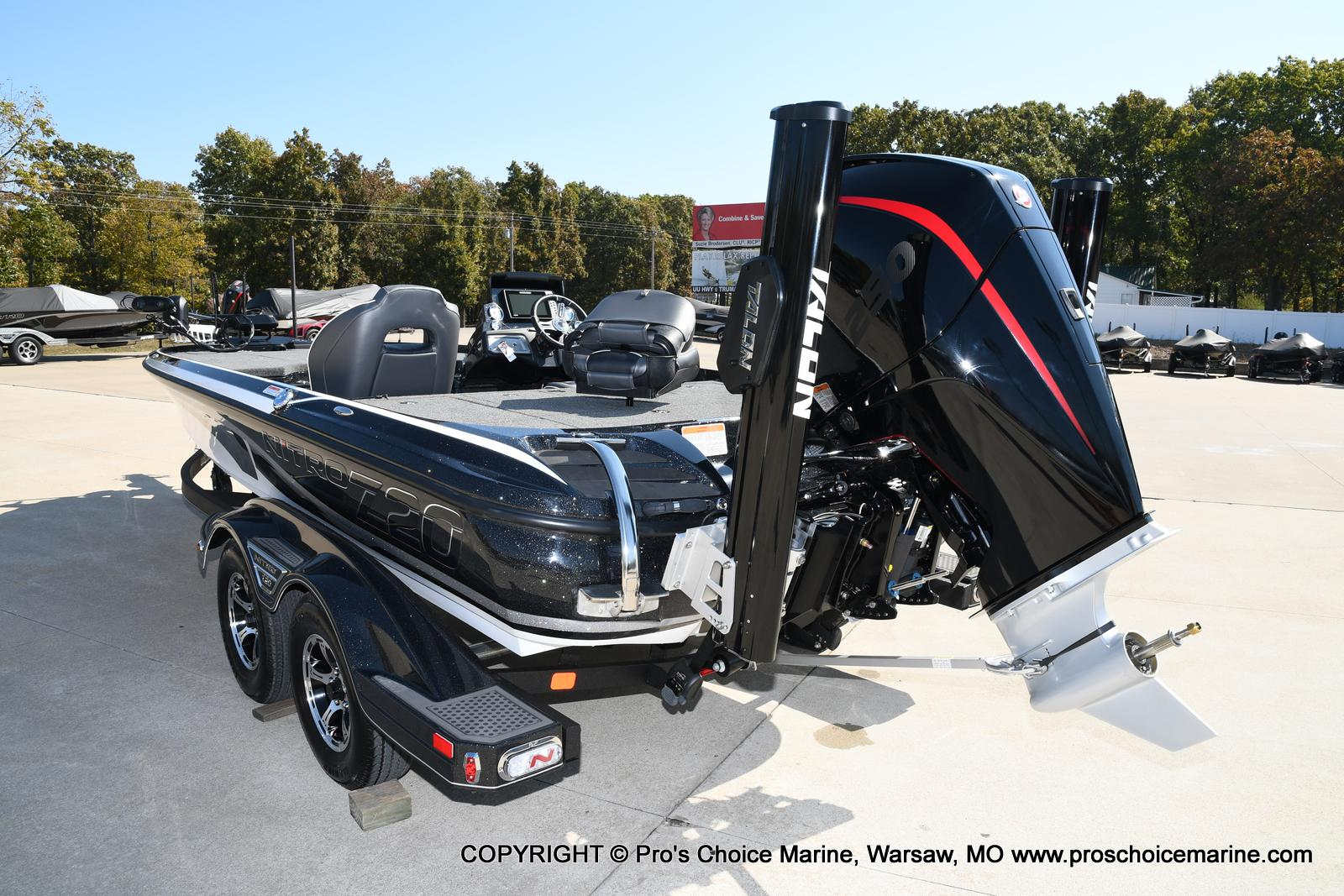 2021 Nitro boat for sale, model of the boat is Z20 PRO PACKAGE & Image # 18 of 50