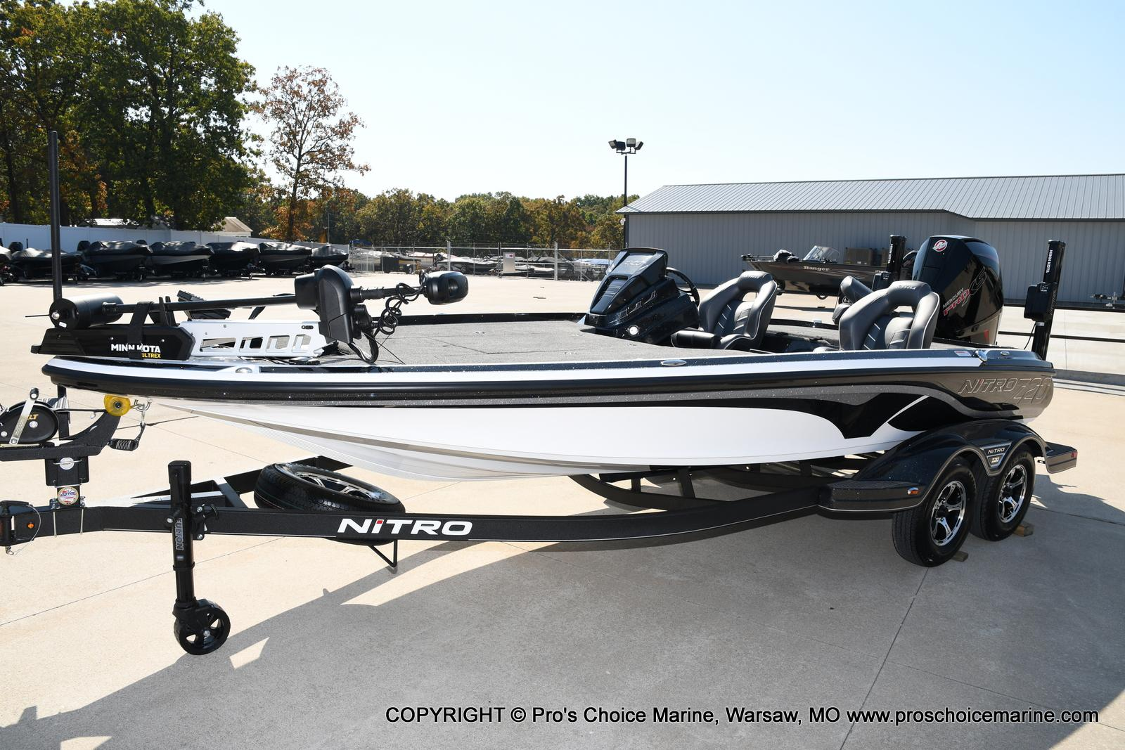 2021 Nitro boat for sale, model of the boat is Z20 PRO PACKAGE & Image # 34 of 50
