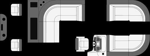 2021 Manitou 22 Aurora Angler LE FF Twin Limited thumbnail