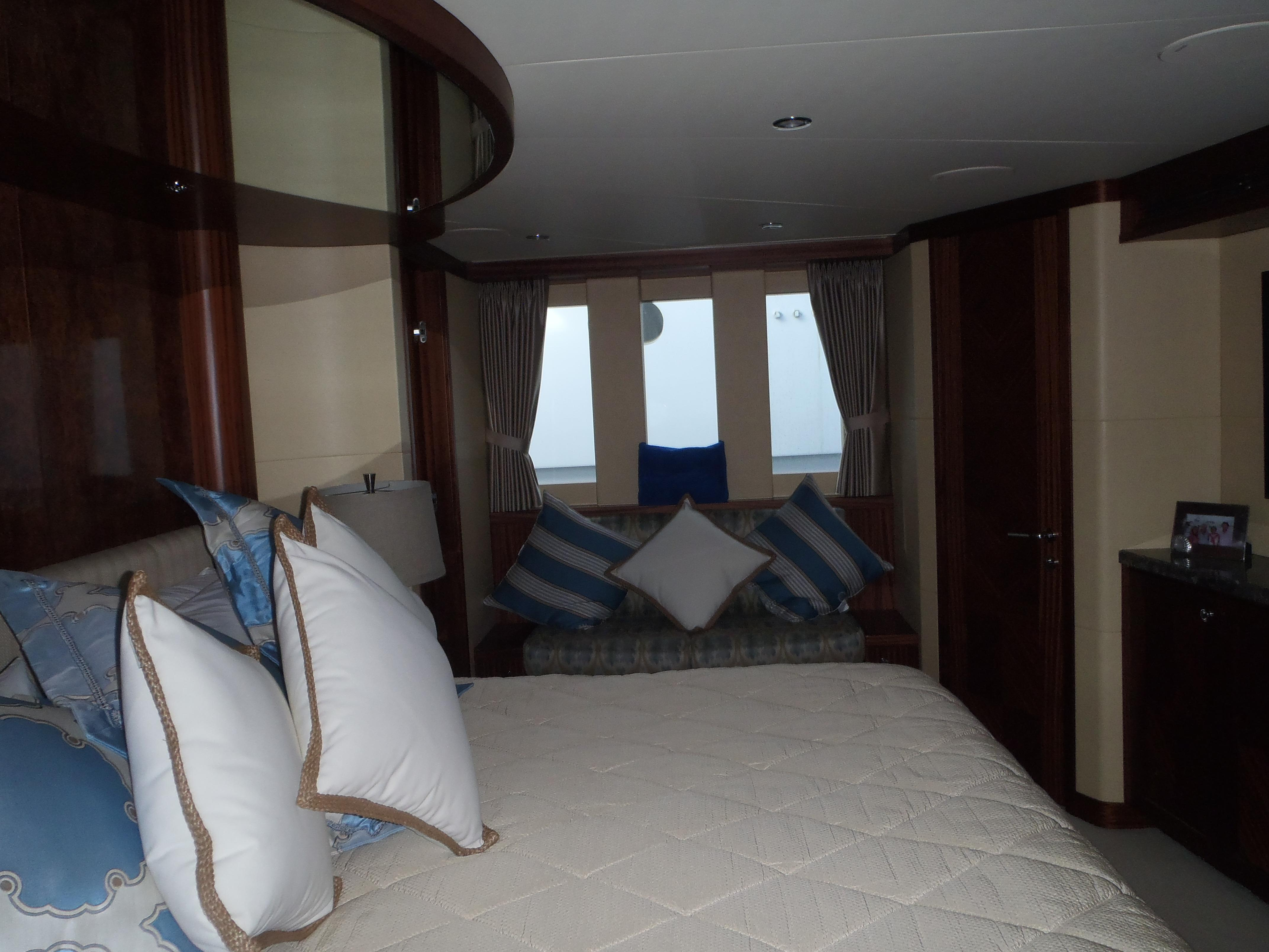 Full Width Master Stateroom