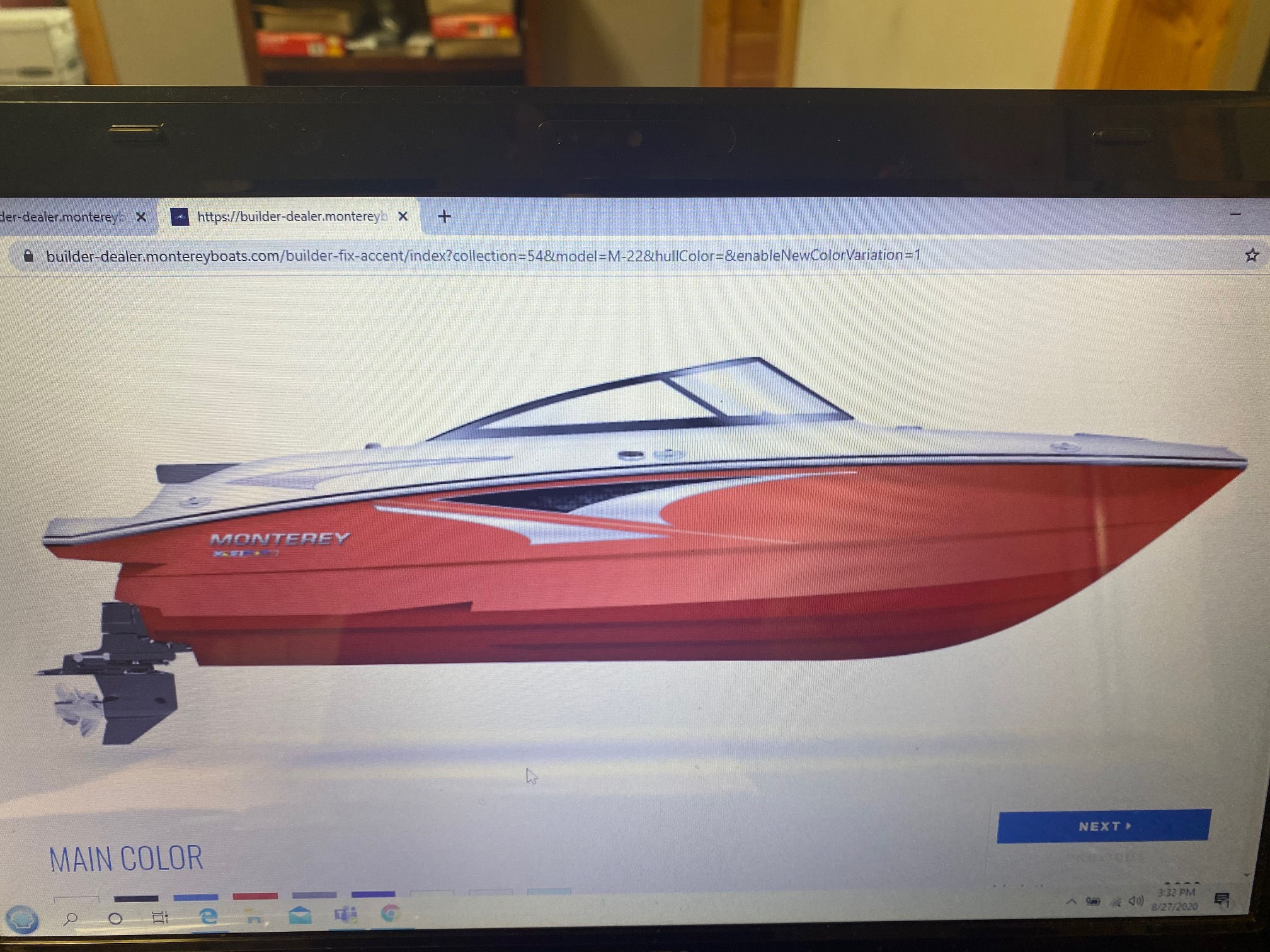 2021 MONTEREY M-22 (On order, secure your boat today!)