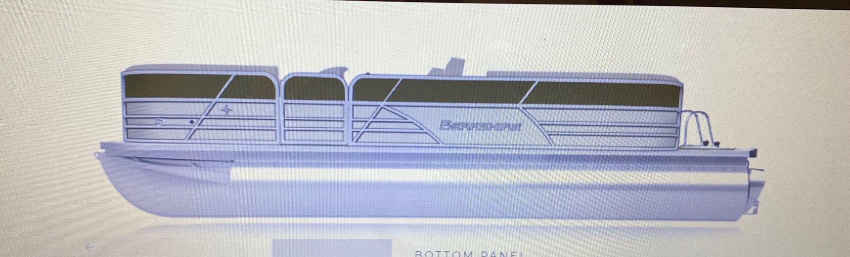 2021 BERKSHIRE CTS Series 22CL 2.75 Tri-toon (On order, secure yours t thumbnail