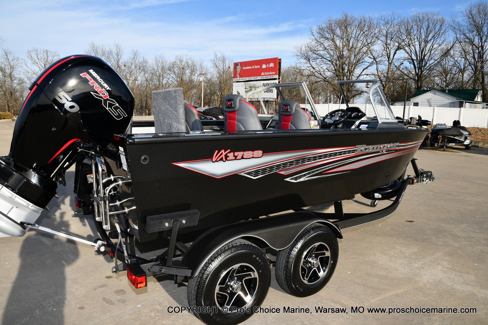 2021 Ranger Boats boat for sale, model of the boat is VX1788 WT w/150HP Pro-XS 4 Stroke & Image # 32 of 50