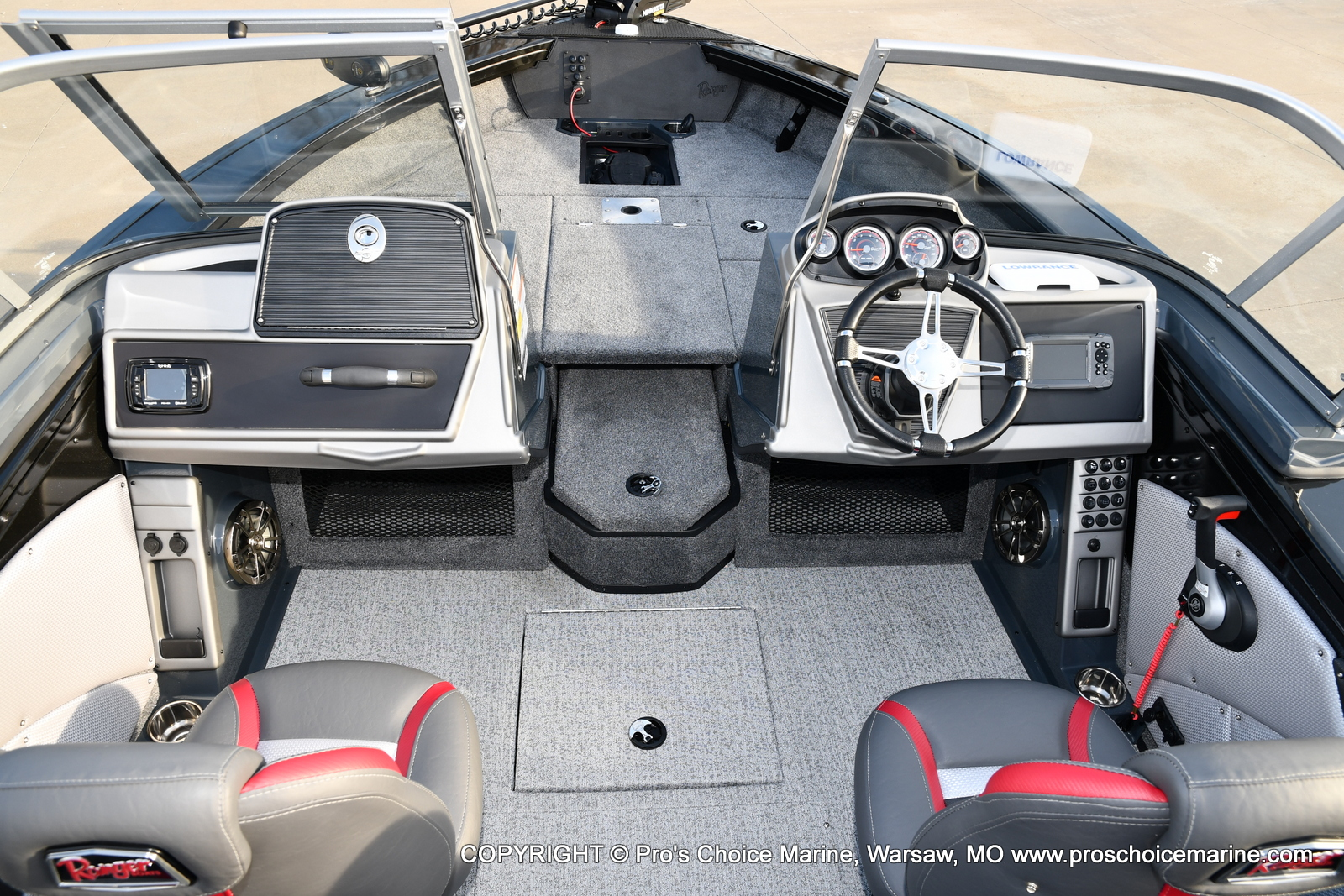 2021 Ranger Boats boat for sale, model of the boat is VX1788 WT w/150HP Pro-XS 4 Stroke & Image # 34 of 50